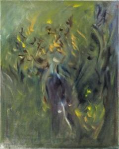 """earth spirit oil on canvas, 16"""" x 20"""""""
